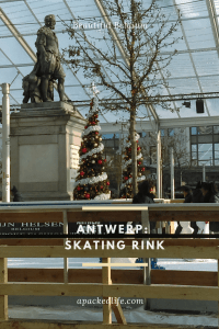 Antwerp Kerstmarkt Ice Skating Rink