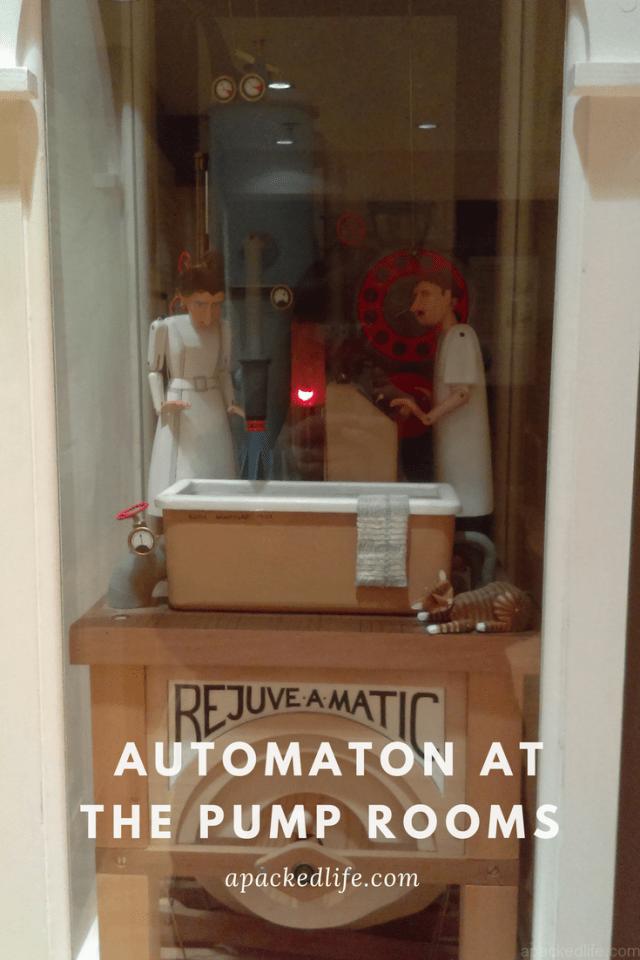 Royal Leamington Spa, Royal Pump Rooms, Automaton