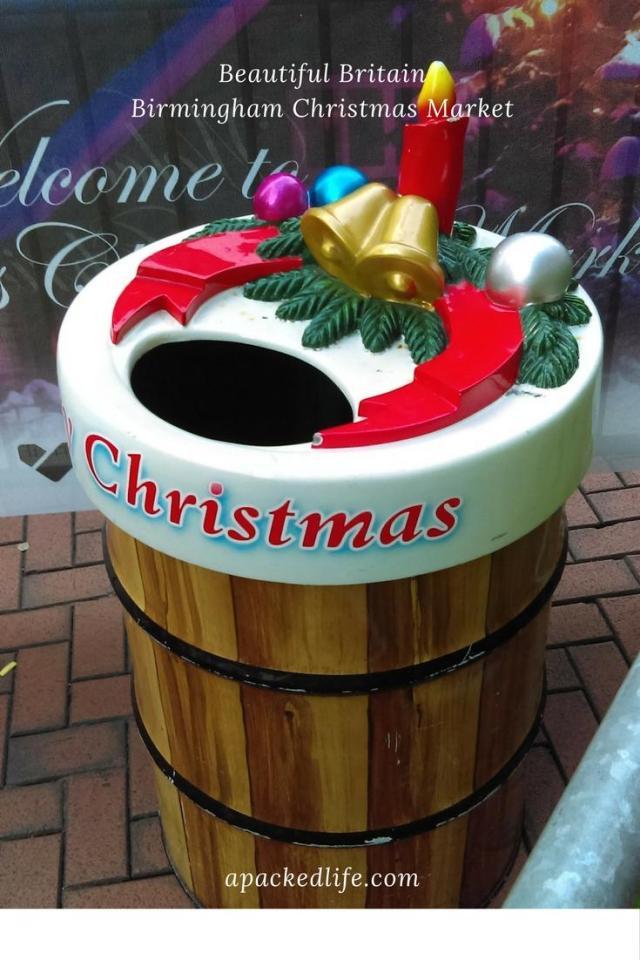 Birmingham Christmas Market - Bin