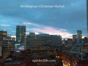 Birmingham Christmas Market - City Skyline