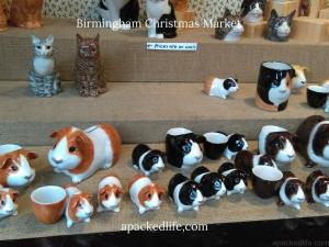 Birmingham Christmas Market - Gifts - Guinea Pigs