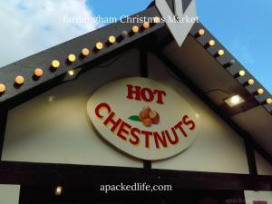 Birmingham Christmas Market - Hot Chestnuts