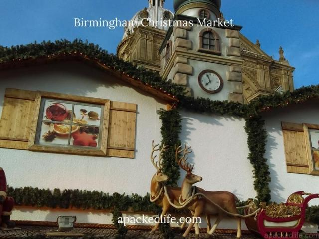 Birmingham Christmas Market - Santa sleigh