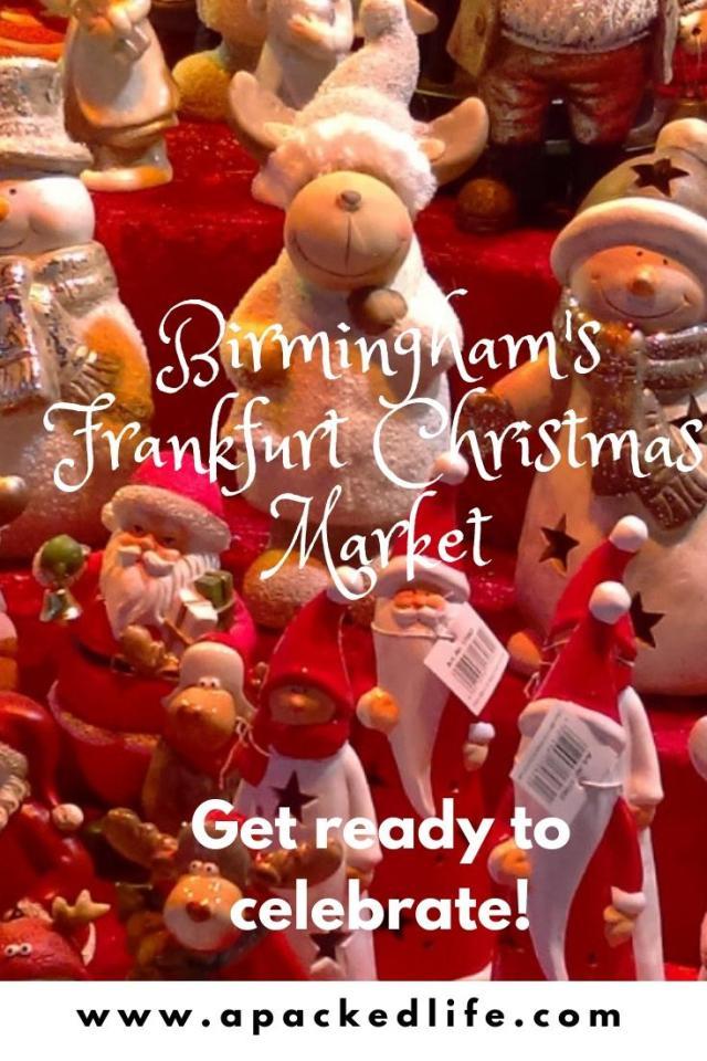 Celebrating at the Birmingham Frankfurt Christmas Market