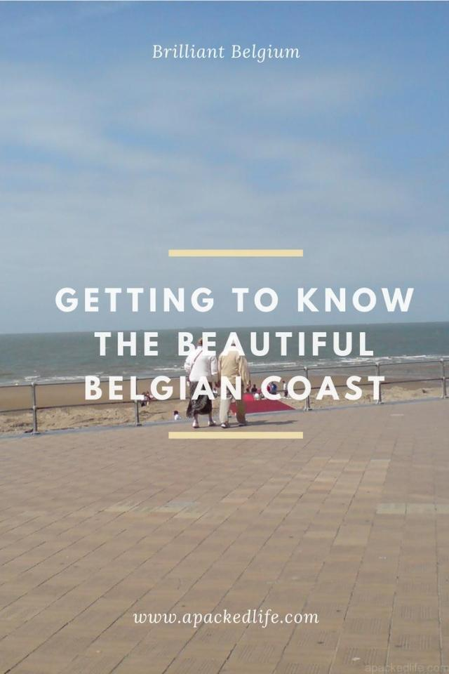 Belgian Coast - sunny seafront Ostend Oostende