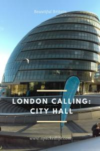 London Calling Shad Thames City Hall
