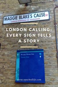 London Calling Shad Thames Maggie Blake's Cause