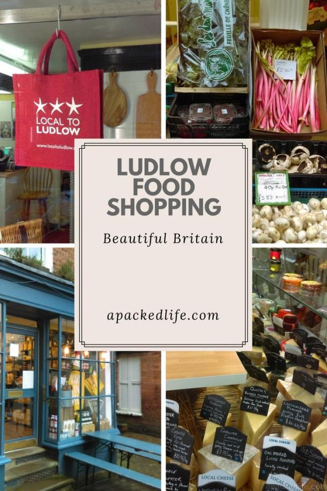 Historic Ludlow - Exploring the charming foodie town - food shopping