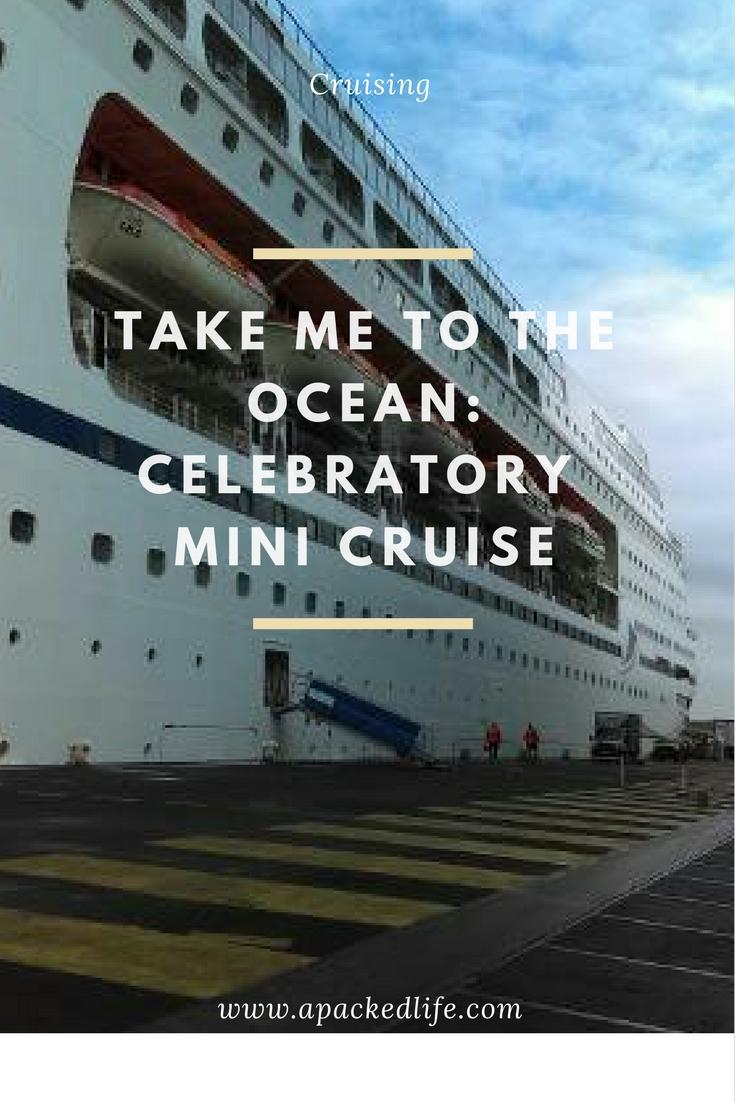 Take Me To The Ocean - Celebratory Mini Cruise - CMV's Columbus