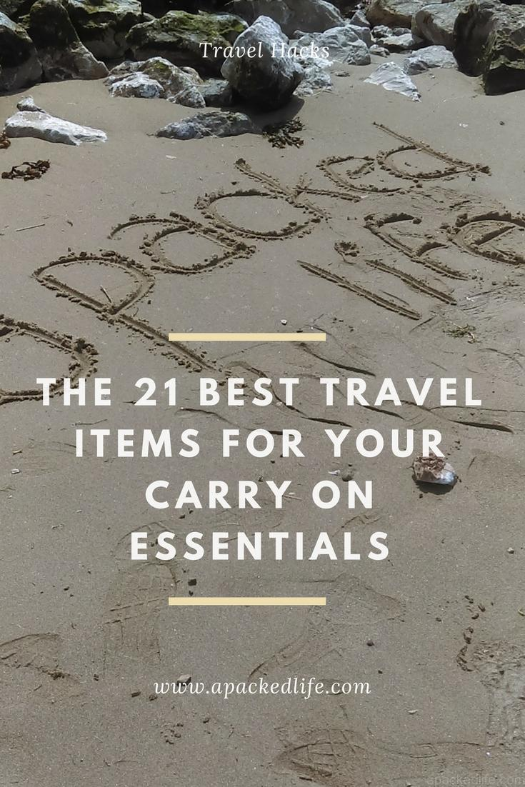 The 21 Best Items For Your Carry On Essentials - Beach