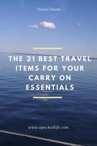 The 21 Best Items For Your Carry On Essentials - Sea