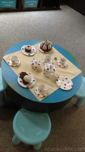 15 Things To Do In A Day In The Staffordshire Potteries - Afternoon Tea table in miniature at The Potteries Museum and Art Gallery