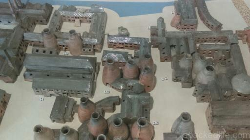 15 Things To Do In A Day In The Staffordshire Potteries - Spode by Spode - a model of the original Spode works cast in clay