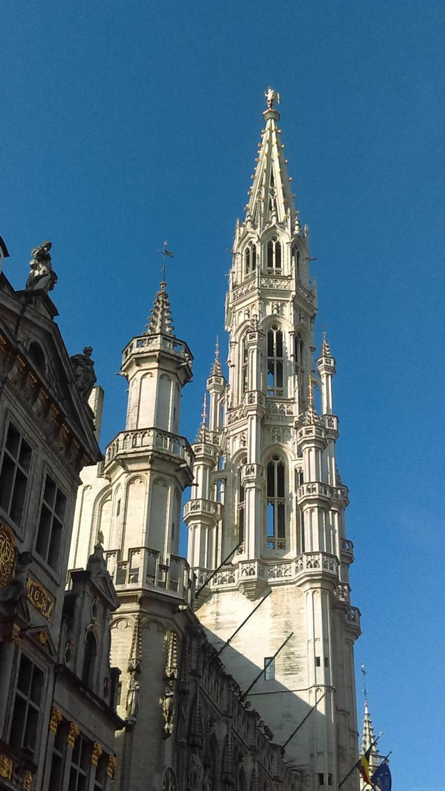 Best Of Brussels - Fall in love with Grand Place - Hotel de Ville at Brussels Grand Place