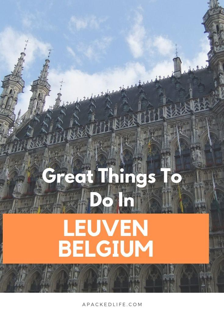 Great Things To Do In Leuven, Belgium