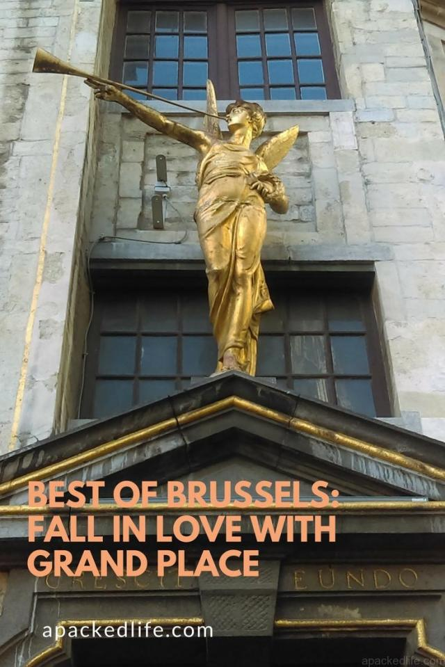 best of brussels_ Fall in love with grand place Trumpet Angel
