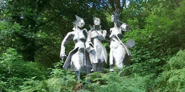 Broomhill Sculpture Park, Muddiford, Devon