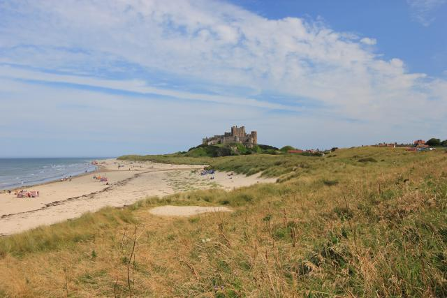 The 11 Best Beaches In England You Must Visit - Bamburgh, Northumberland