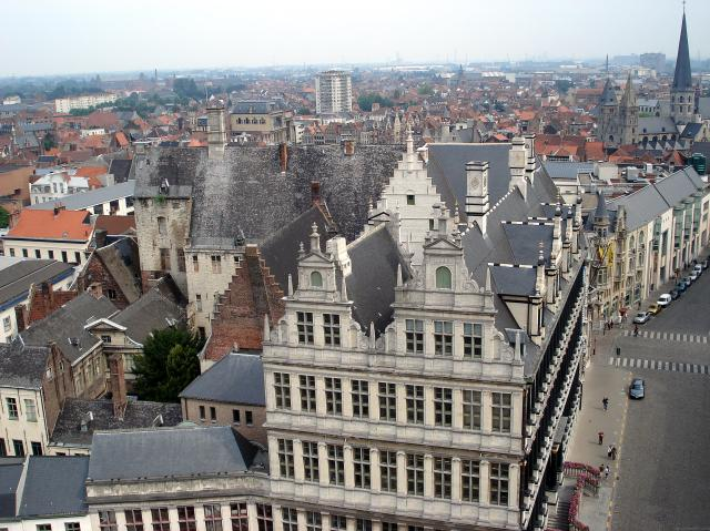 One Day In Ghent - Stadhuis from the Belfort