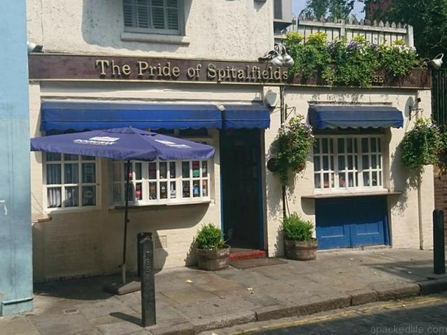 6 Superbly Traditional London Pubs Off The Tourist Trail - The Pride of Spitalfields