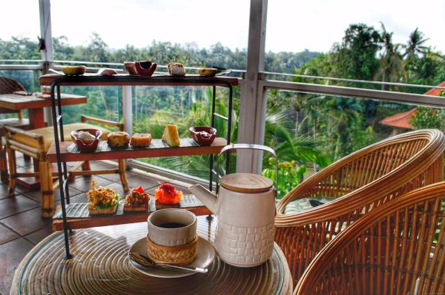 The Best Afternoon Tea Experiences Around The World - Bisma Eight, Ubud, Bali - The Travelling Stomach
