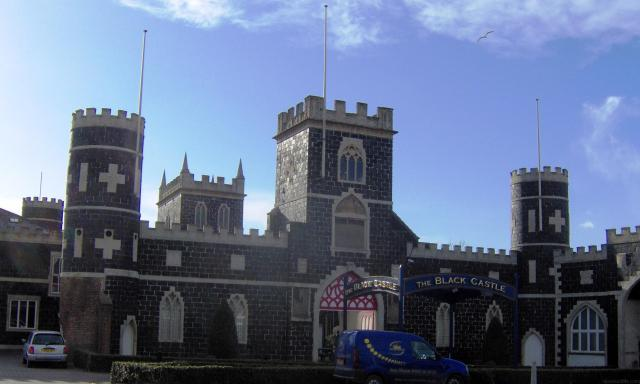 Finding Follies: Traveling In Search Of England's Eccentricities - Black Castle