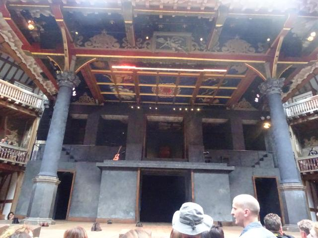 Cool or unusual things to do in England - Shakespeare's Globe Theatre, London