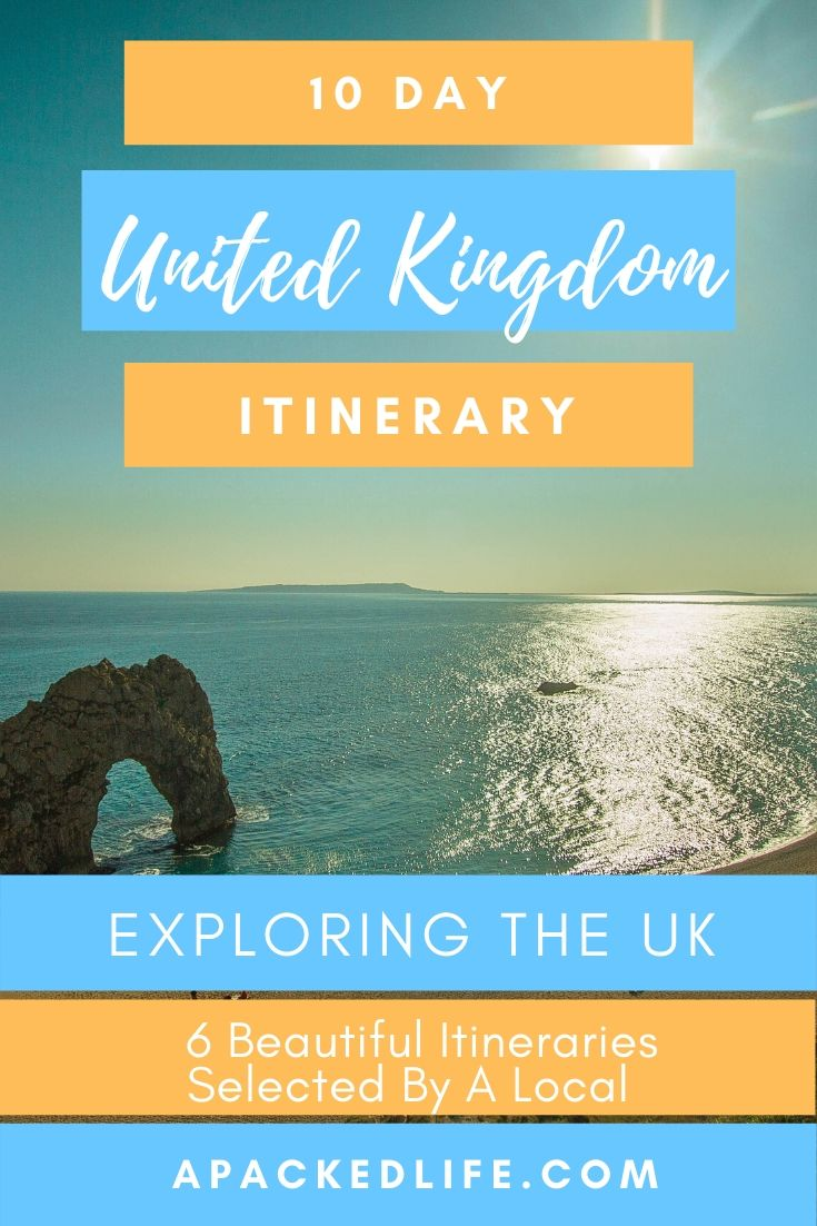 10 Day UK Itinerary