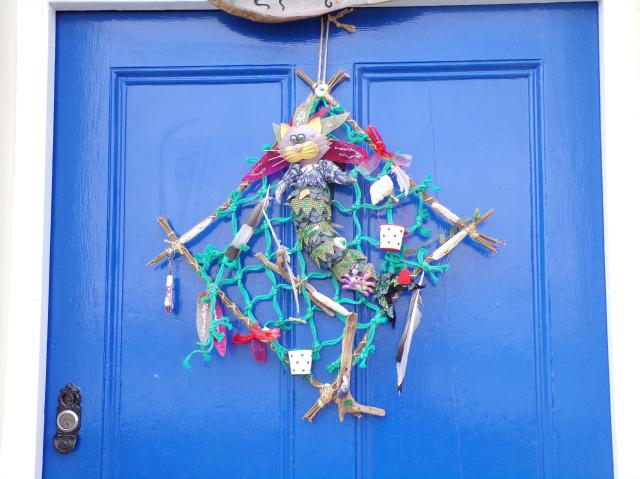 Things To Do In Appledore - decorated doors of Appledore