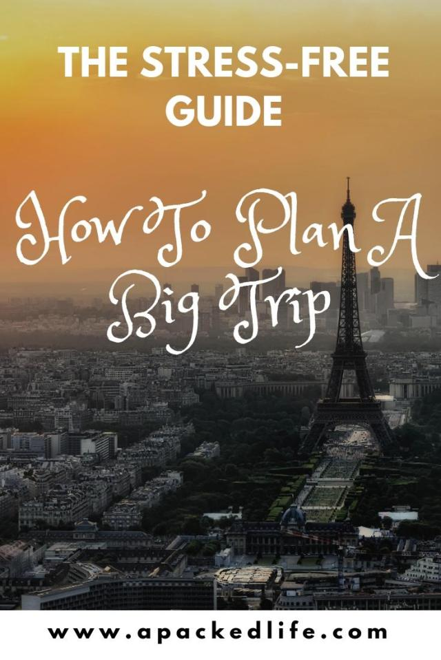 How To Plan A Big Trip - Without Your Head Exploding