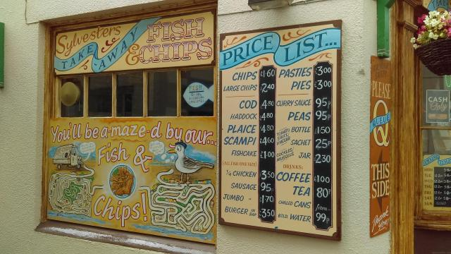 Things To Do In Appledore - Fish and Chips at Sylvesters' near the Quay