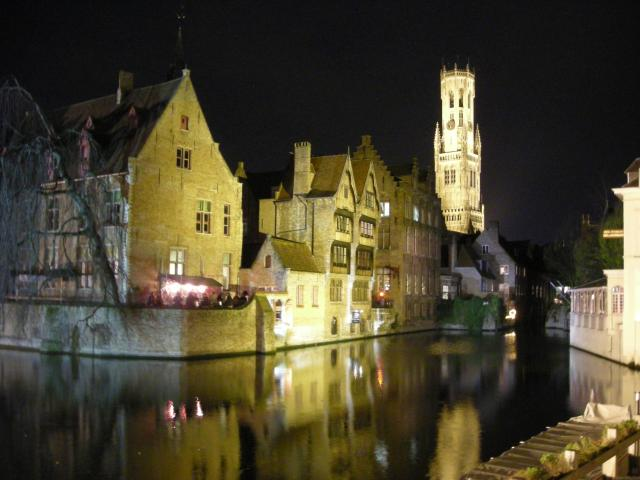 What To Do In Bruges In Just One Day - Bruges from the canals