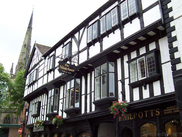 48 hours in the Welsh Marches land of conquests and castles - Butcher Row, Shrewsbury