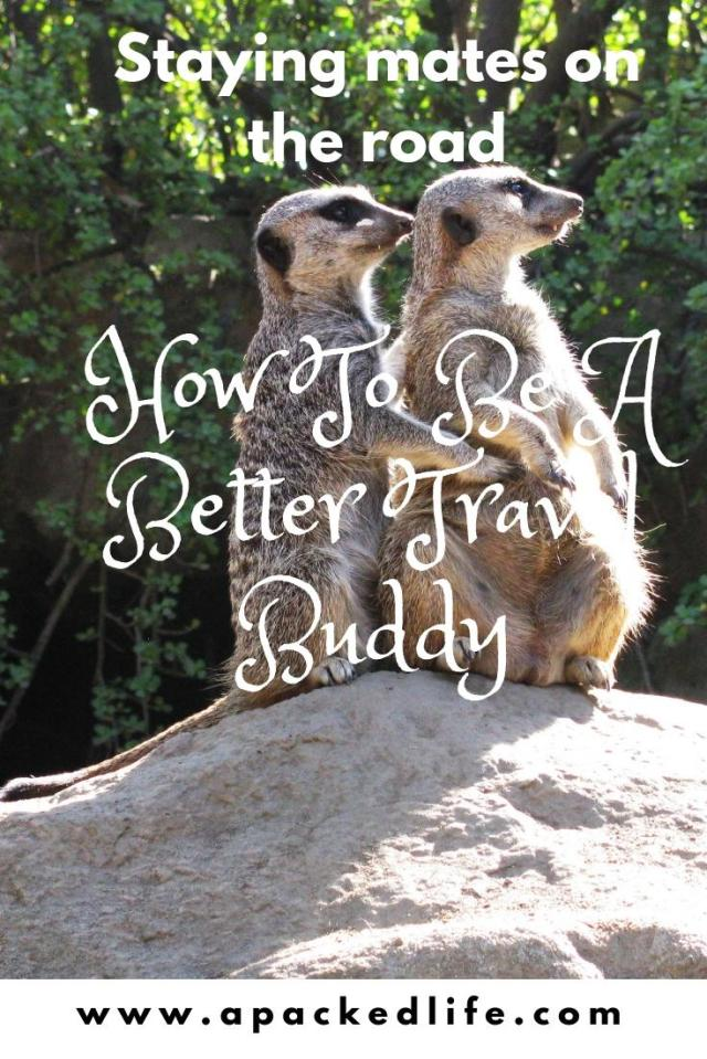 How To Be A Better Travel Buddy