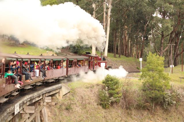 Great Rail Journeys Of The World Waiting To Be Discovered - Puffing Billy, Victoria, Australia