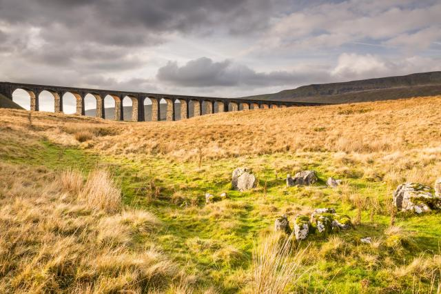 Undiscovered Places In England: Ribblehead Viaduct on the Settle to Carlisle Railway in the Yorkshire Dales
