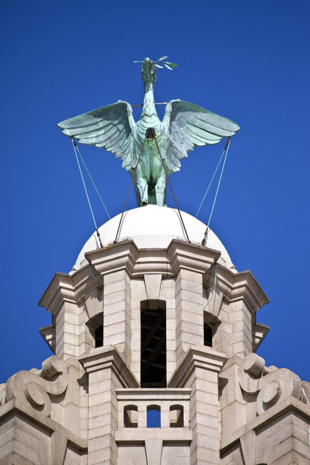 Top 10 UK City Breaks: Liverpool - Liver Bird on the Royal Liver Building