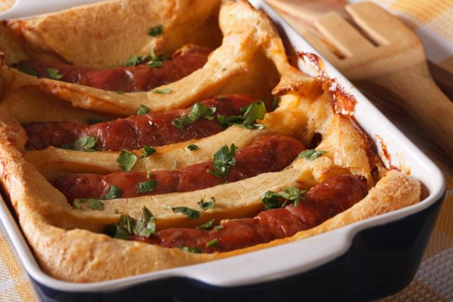 Great Eats of Britain: 61 Traditional British Foods To Try On Your Travels - Toad In The Hole