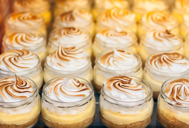 Great Eats of Britain: 61 Traditional British Foods To Try On Your Travels - Lemon Meringue Pies