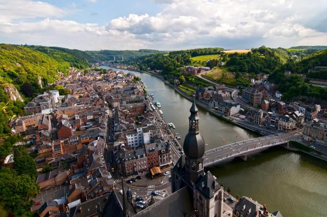 Day Trips From Brussels - Overlooking Dinant, Belgium