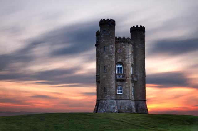 Broadway Cotswolds - Broadway Tower at sunset