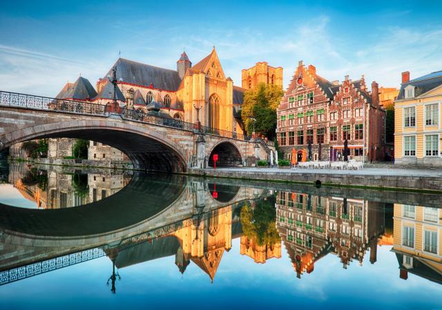 Day Trips From Brussels - Ghent - Gent, Belgium - Sint Michielskerk