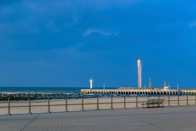 Day Trips From Brussels - Pier with lighthouse at Ostend, Belgium