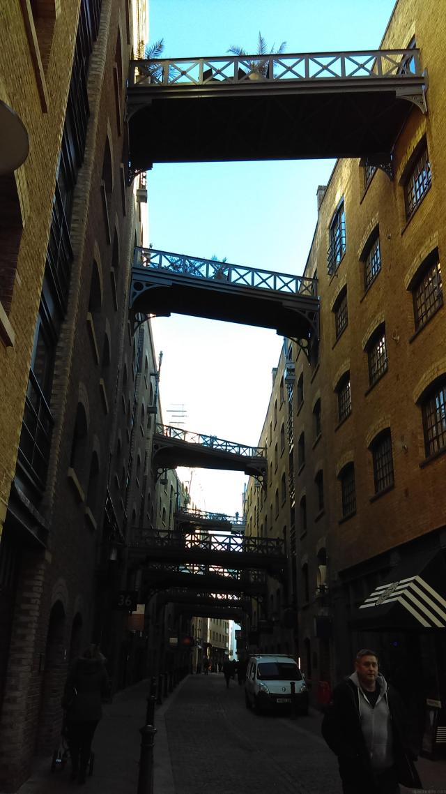 Warehouses, Shad Thames, London