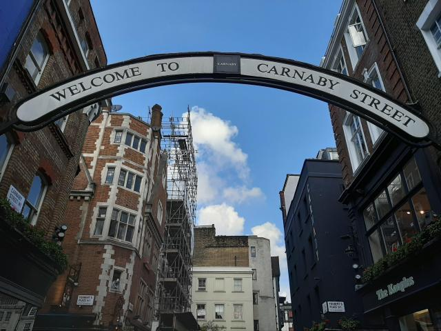 Carnaby Street, Soho, London