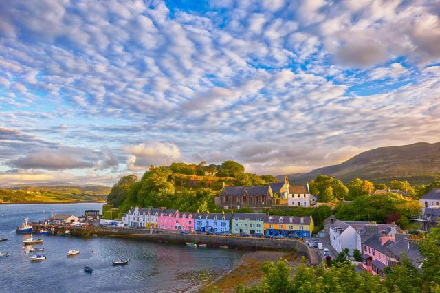 Scottish Highlands Itinerary - Portree Harbour, Isle of Skye