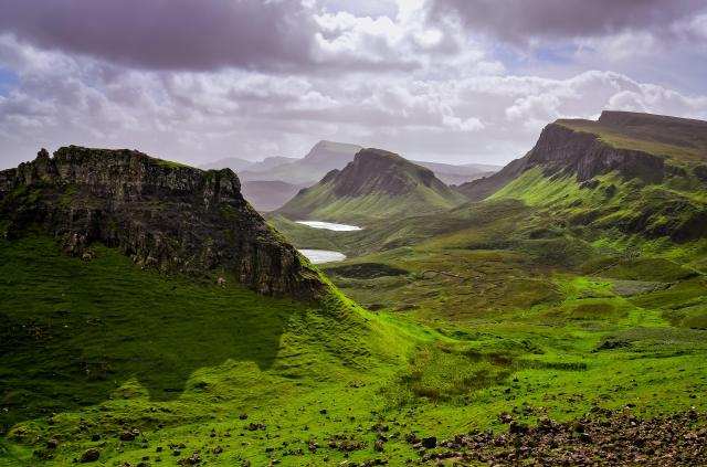 Scottish Highlands Itinerary - Quiraing Mountains, Isle of Skye