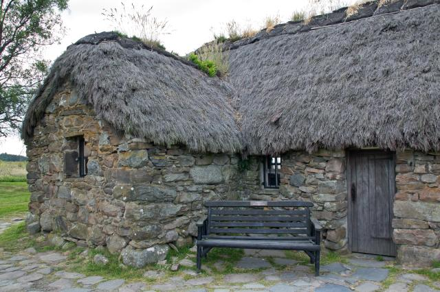 Scottish Highlands Itinerary - Culloden, Old Leanach Cottage