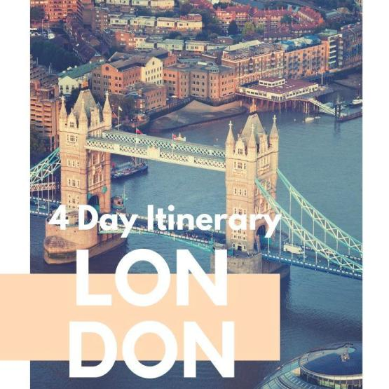 4 Day London Itinerary