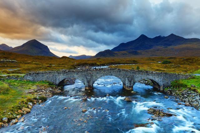 Scottish Highlands Itinerary - Sligachan Glen, Isle of Skye